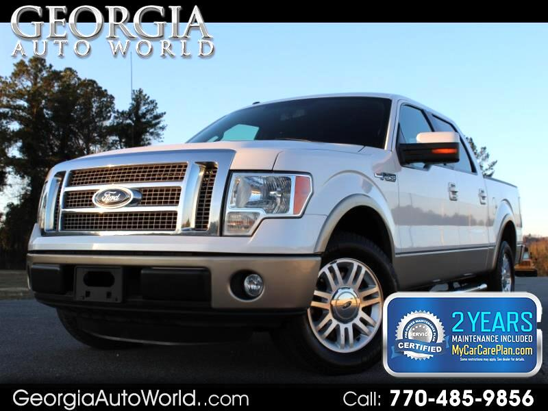 2012 Ford F-150 Lariat 2WD SuperCab 6.5' Box