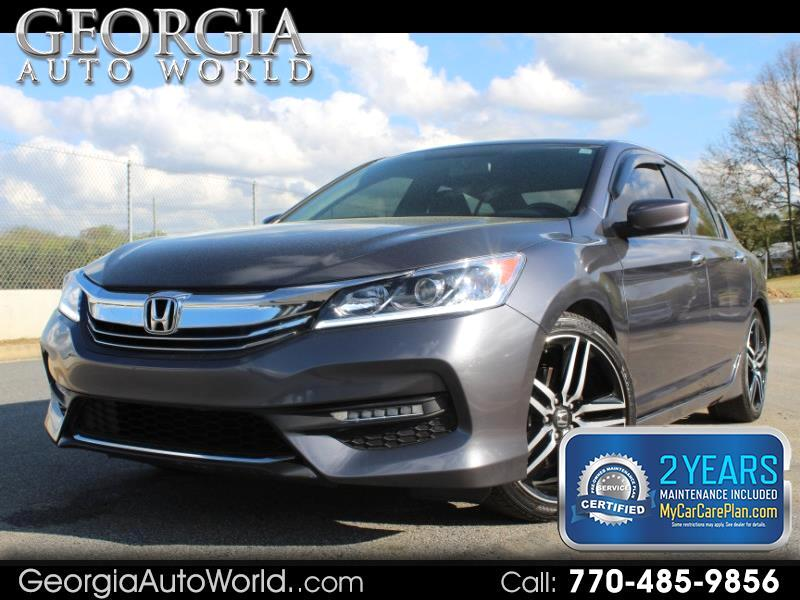 2017 Honda Accord Sport Special Edition CVT