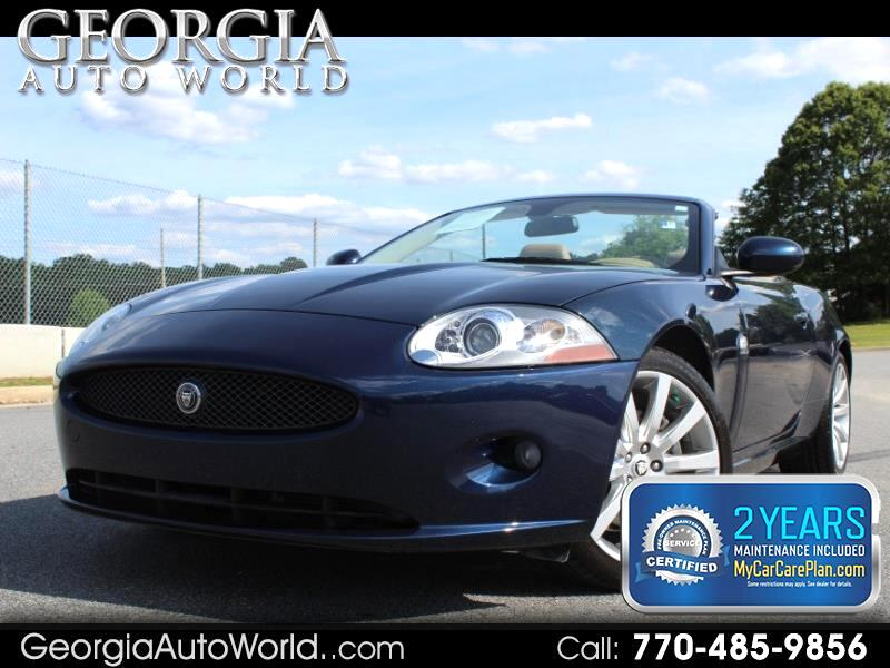 2008 Jaguar XK-Series XK Convertible