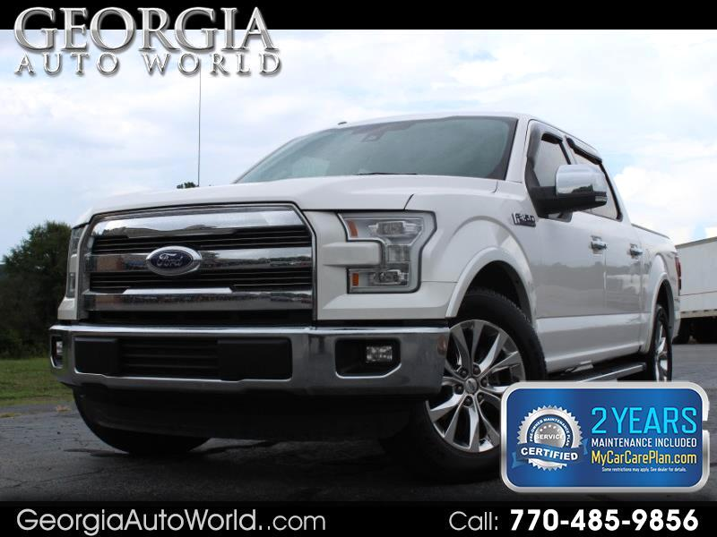 2015 Ford F-150 Lariat SuperCrew 6.5-ft. Bed 2WD