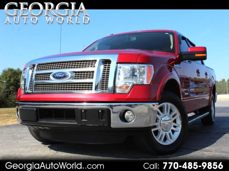 2012 Ford F-150 Platinum 2WD SuperCrew 6.5' Box