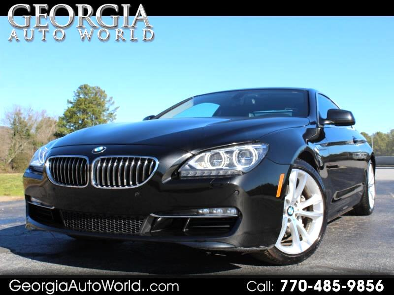 BMW 6-Series 640i Coupe 2012