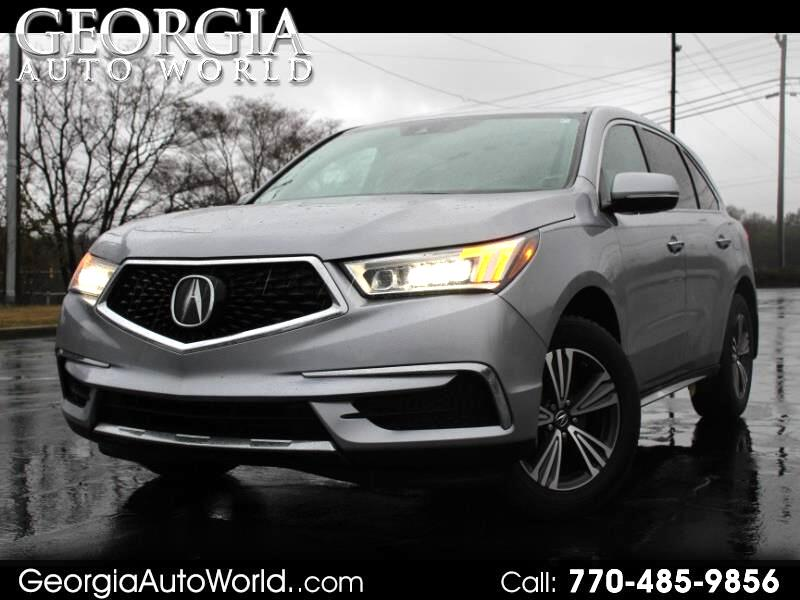 Acura MDX 9-Spd AT 2017