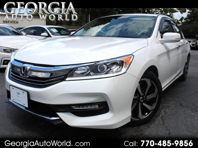 Honda Accord EX-L Sedan V6 CVT w/ Honda Sensing 6-Spd AT 2016