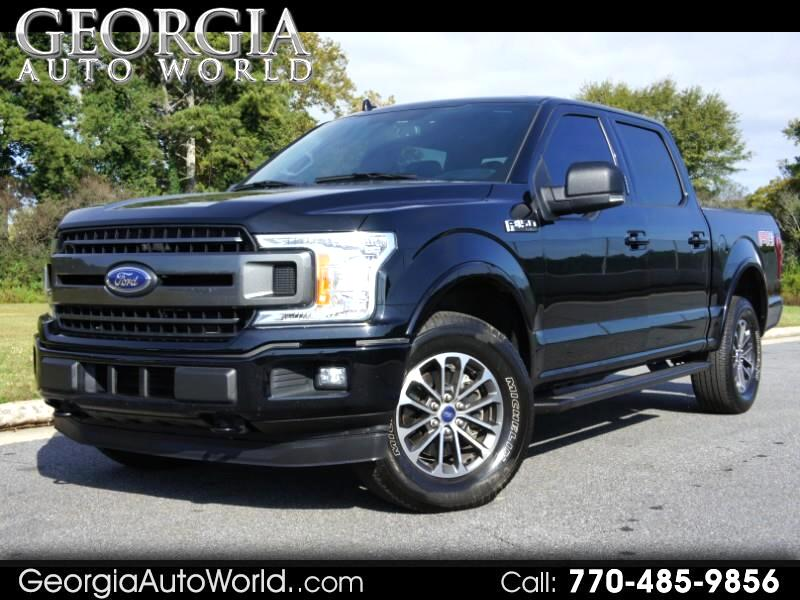 "Ford F-150 4WD SuperCab 145"" Lariat 2018"