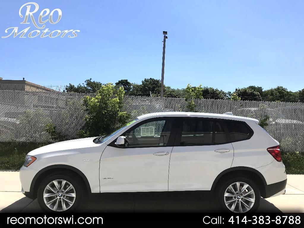 2013 BMW X3 4WD
