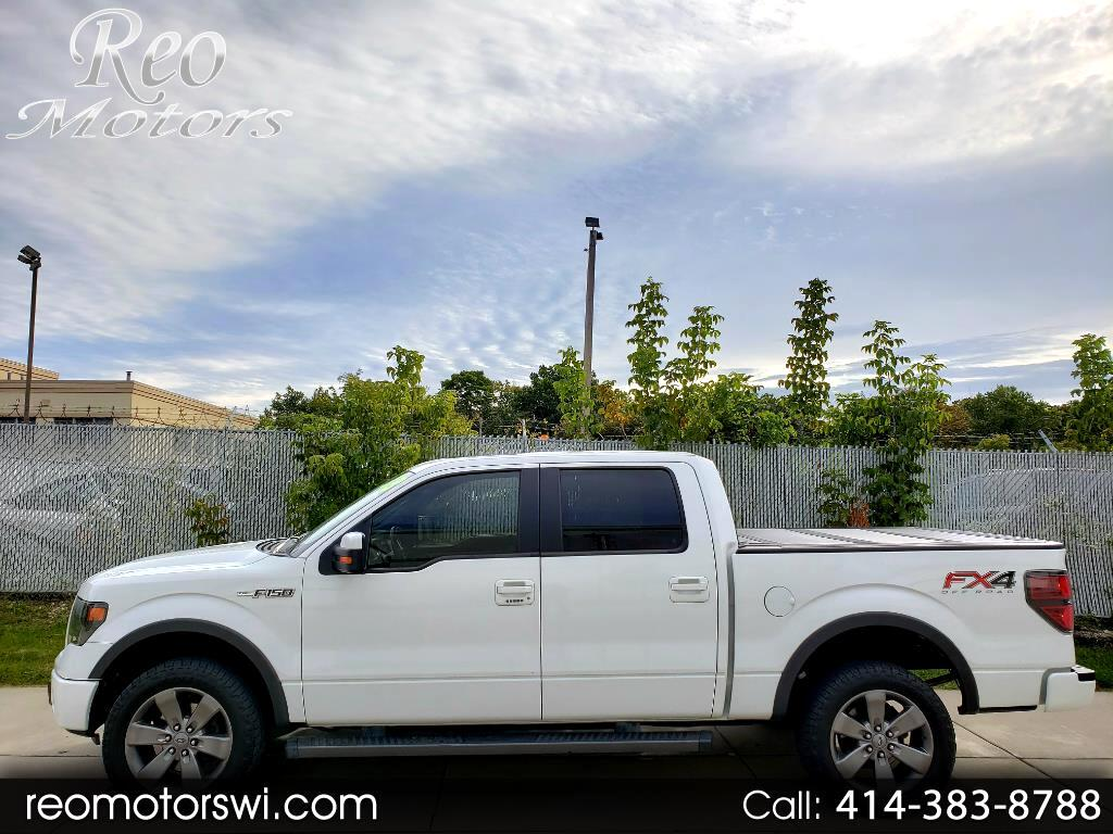 2013 Ford F-150 SuperCrew 4WD