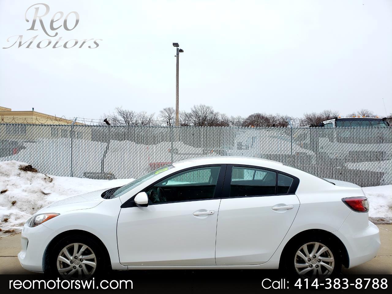 2012 Mazda MAZDA3 4-DOOR