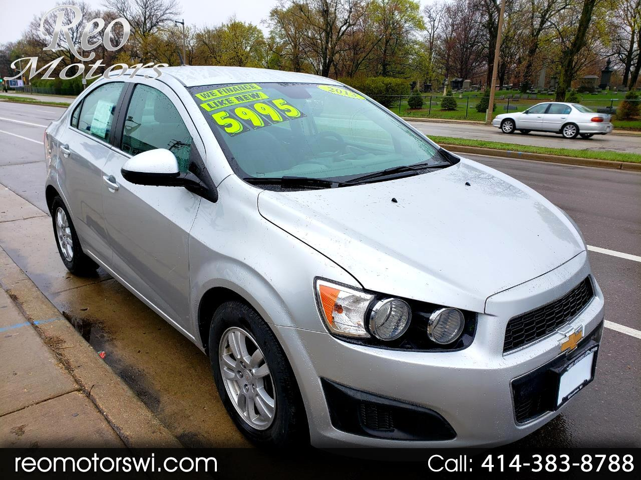 2013 Chevrolet Sonic Automatic