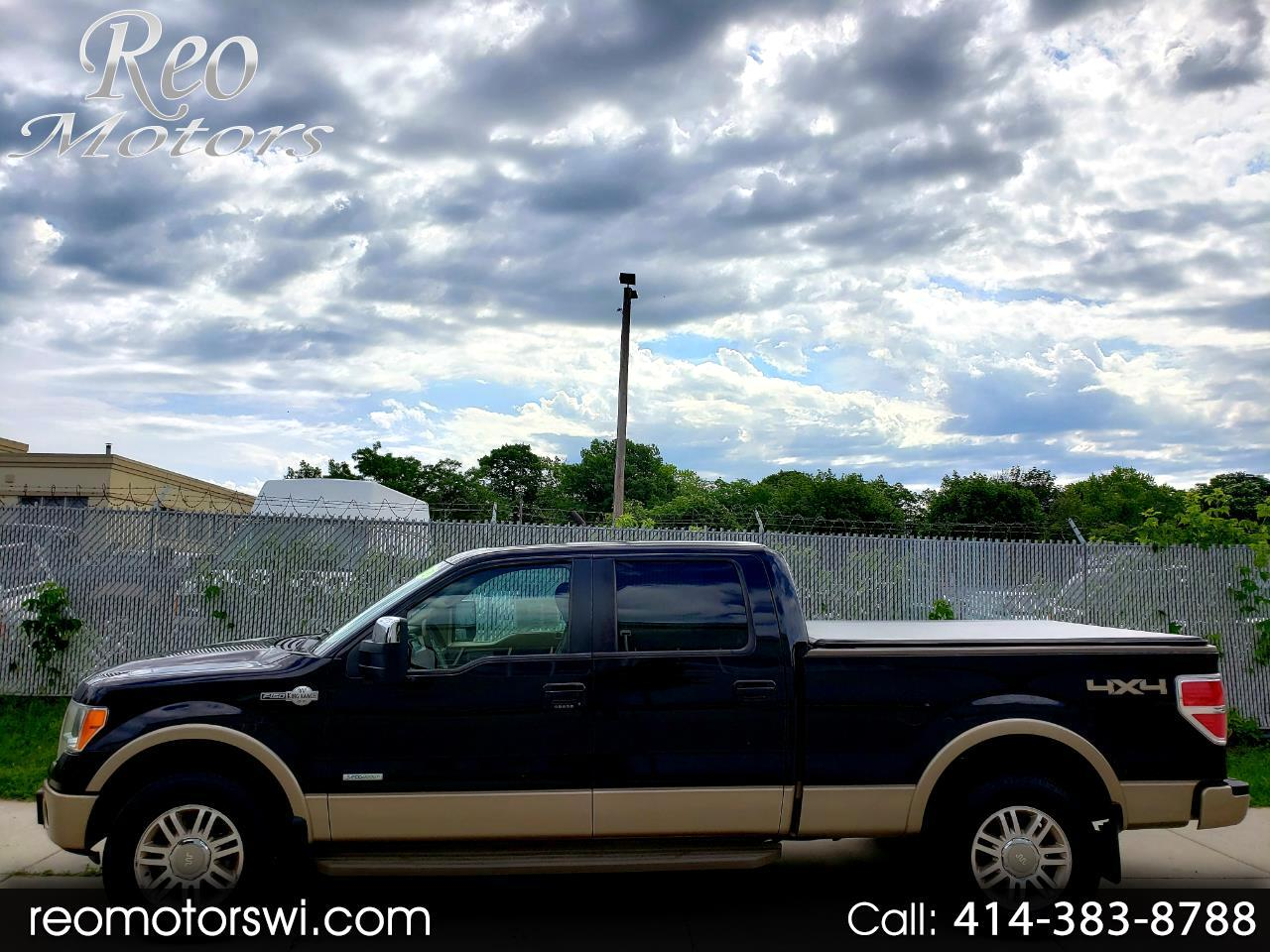 2012 Ford F-150 SuperCrew 4WD