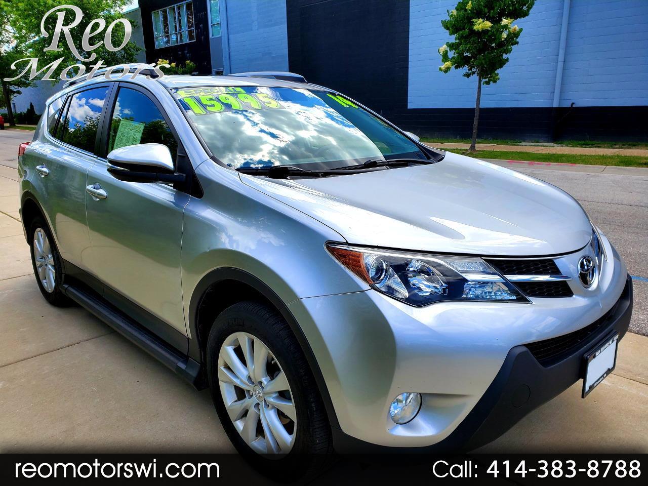 Toyota RAV4 Limited AWD 2014