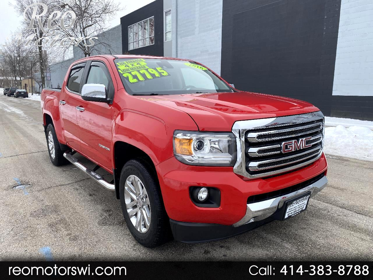 GMC Canyon SLT Crew Cab 4WD Short Box 2016