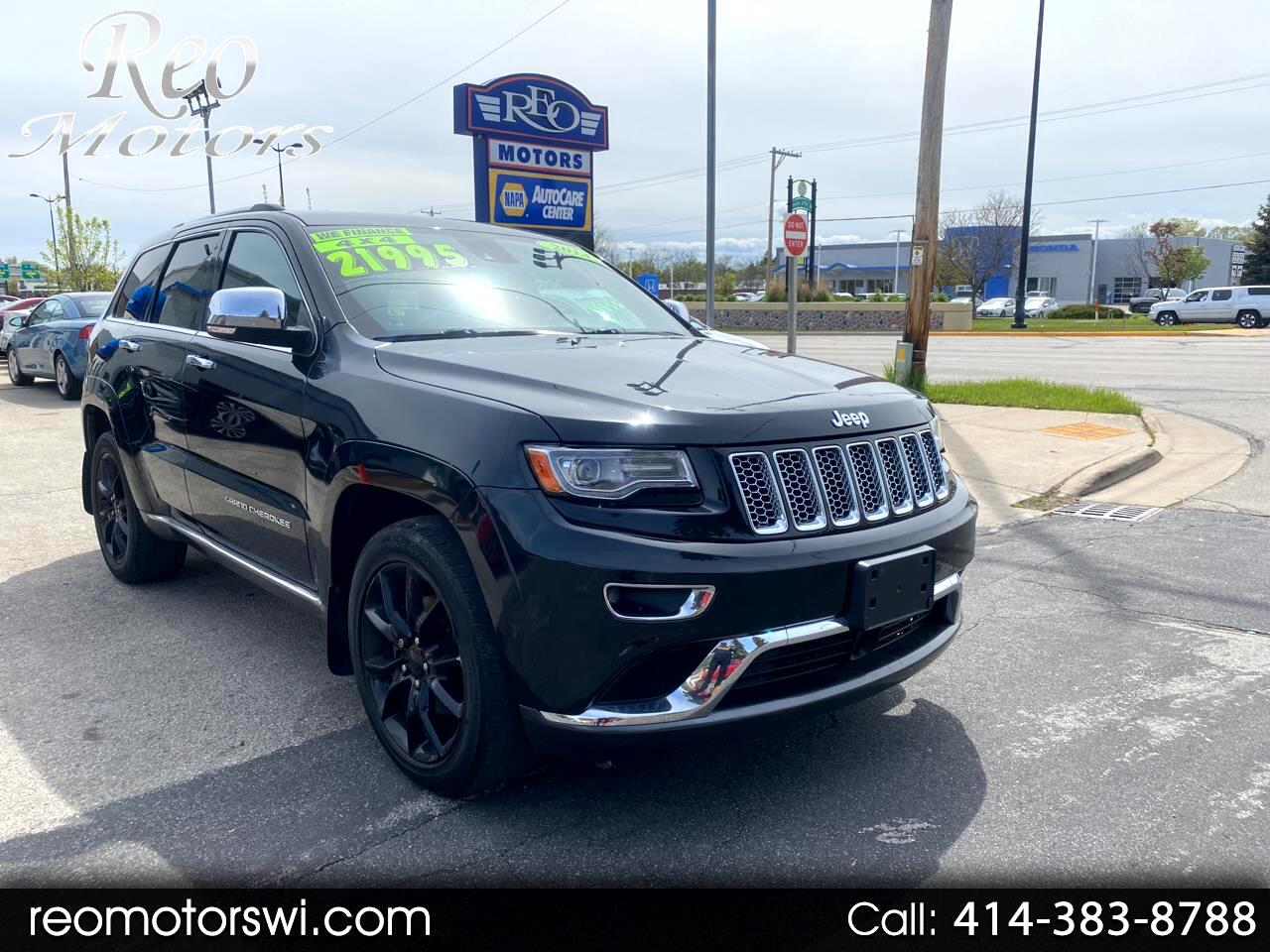 Jeep Grand Cherokee 4WD 4dr Overland Summit 2014