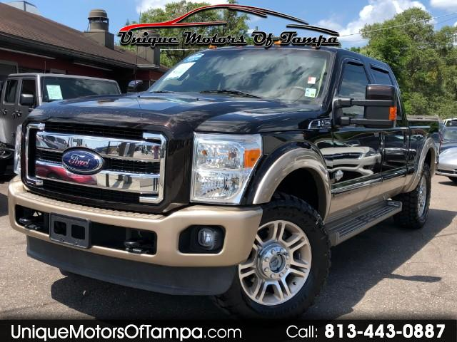 2013 Ford F-250 SD KING RANCH 4X4 W/NAV SYSTEM