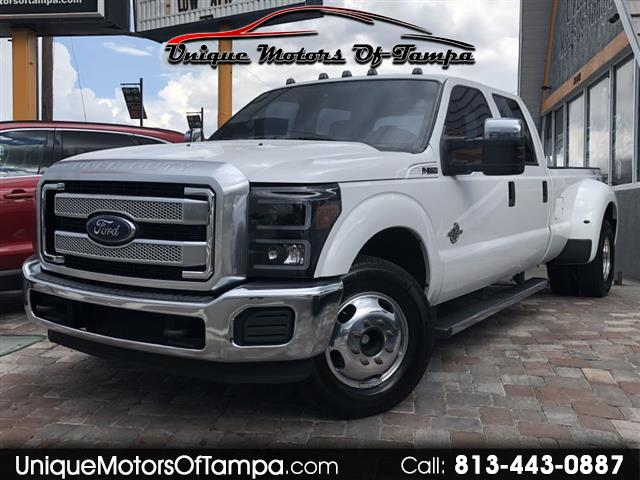 2015 Ford F350 King Ranch Crew Cab Long Bed DRW 2WD