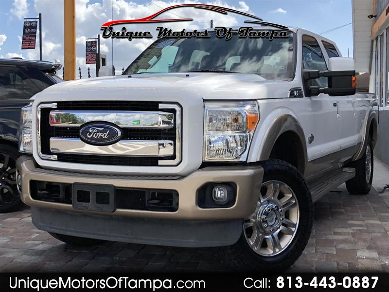 2013 Ford F-250 SD King Ranch Crew Cab Long Bed 4WD