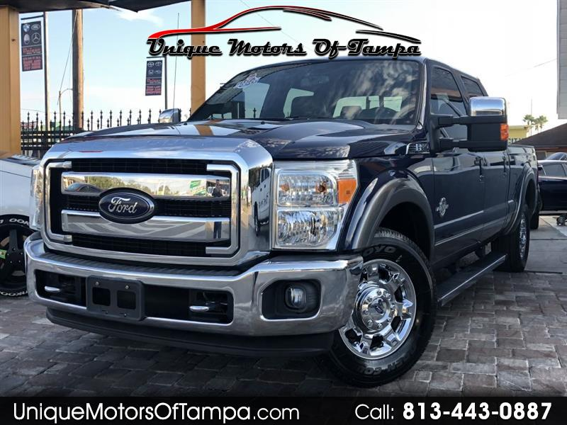 2012 Ford F-250 SD King Ranch Crew Cab 2WD