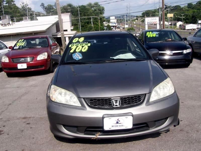 2004 Honda Civic EX Coupe AT with Front Side Airbags
