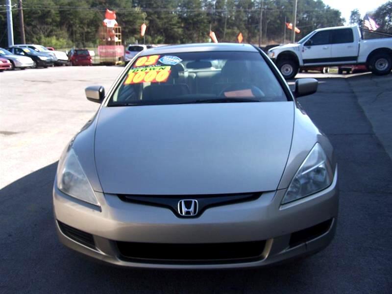2003 Honda Accord EX V6 coupe AT
