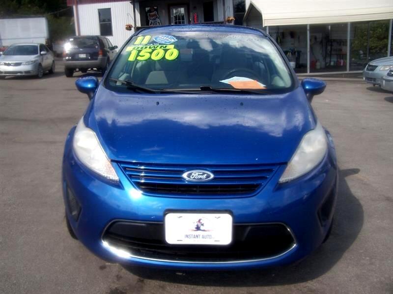 2011 Ford Fiesta S Sedan