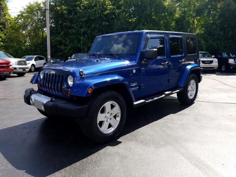 2010 Jeep Wrangler Sahara 4x4