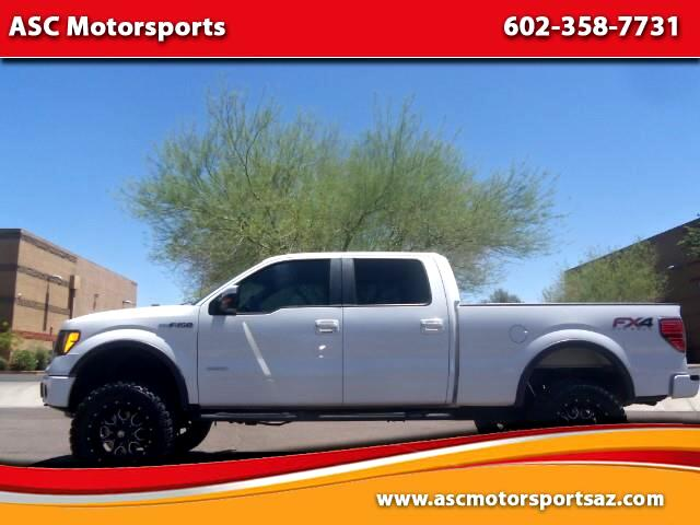 2012 Ford F-150 FX4 SuperCrew 6.5-ft. Bed 4WD