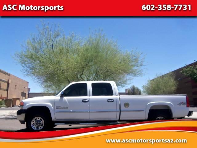 2002 GMC Sierra 2500HD SLE Crew Cab Long Bed 4WD