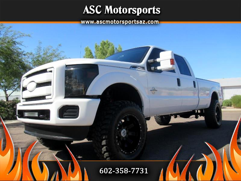 Ford F-250 SD XL Crew Cab Long Bed 4WD 2012