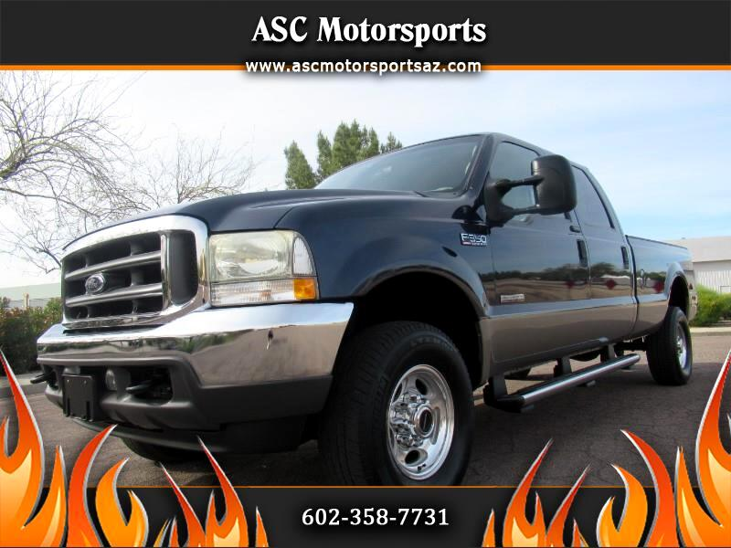Ford F-350 SD Lariat Crew Cab Long Bed 4WD 2004