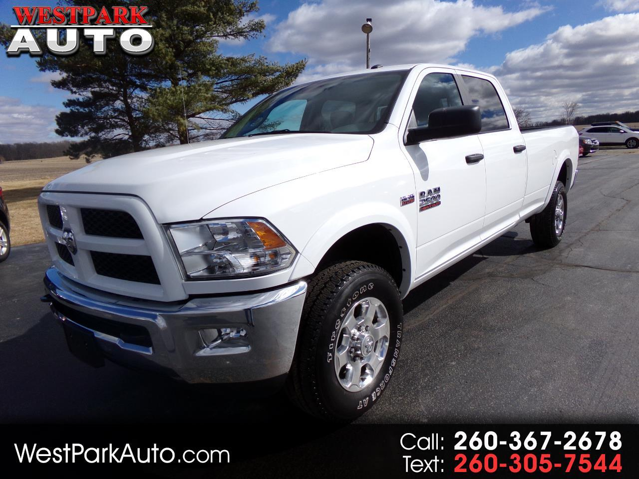 2018 RAM 2500 Outdoorsman 4x4 Crew Cab 8' Box