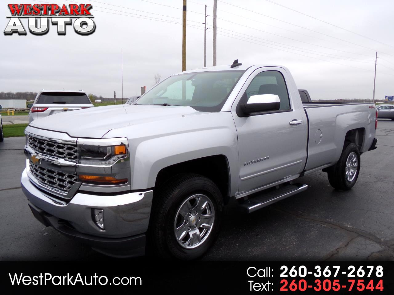 2016 Chevrolet Silverado 1500 1LT Regular Cab Long Box 4WD