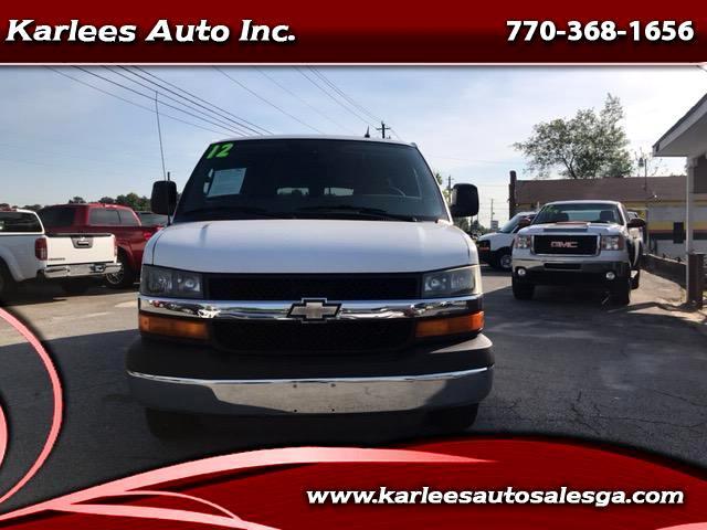 2012 Chevrolet Express LT 3500 Extended