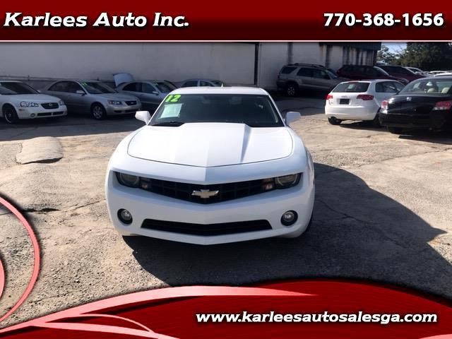 2012 Chevrolet Camaro Coupe 2LT
