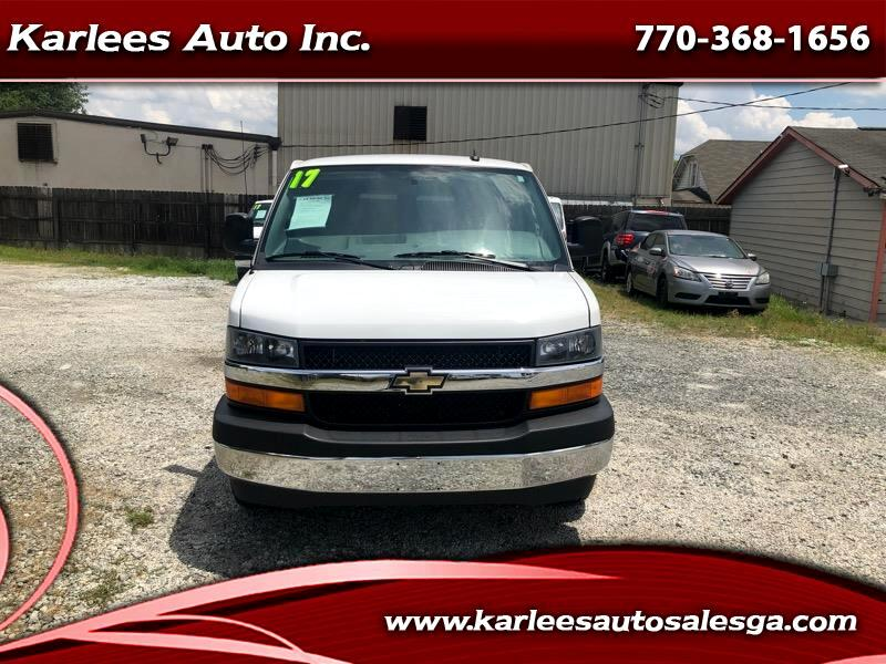 2017 Chevrolet Express LT 3500 Extended