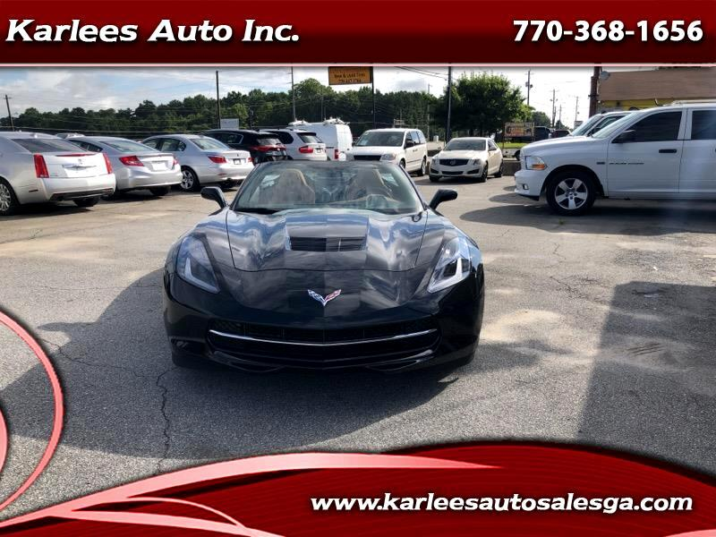 2018 Chevrolet Corvette 2LT Convertible