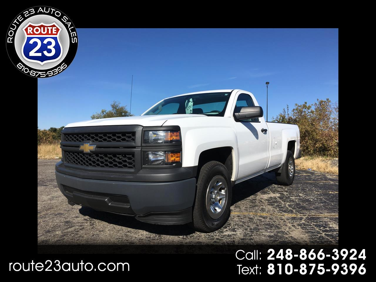2015 Chevrolet Silverado 1500 1LT Regular Cab Long Box 2WD