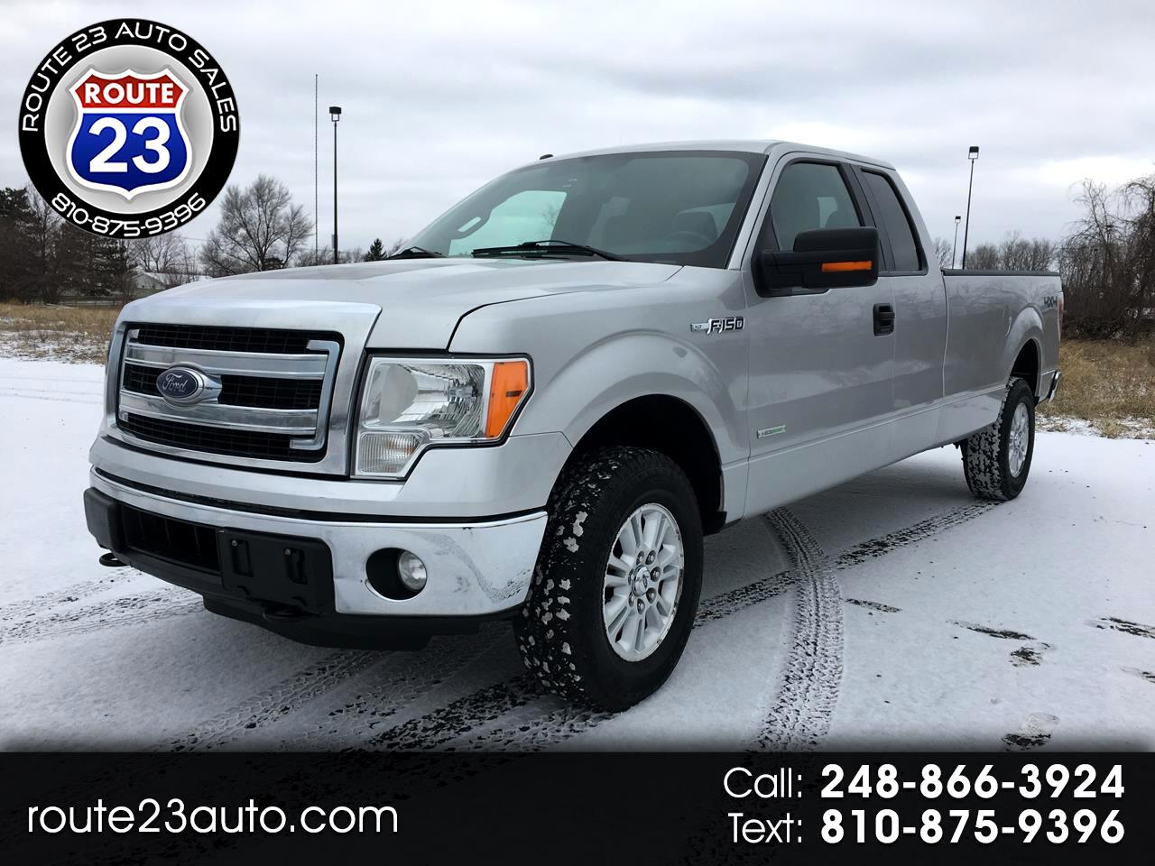 2014 Ford F-150 XLT SuperCab Long Box 4WD