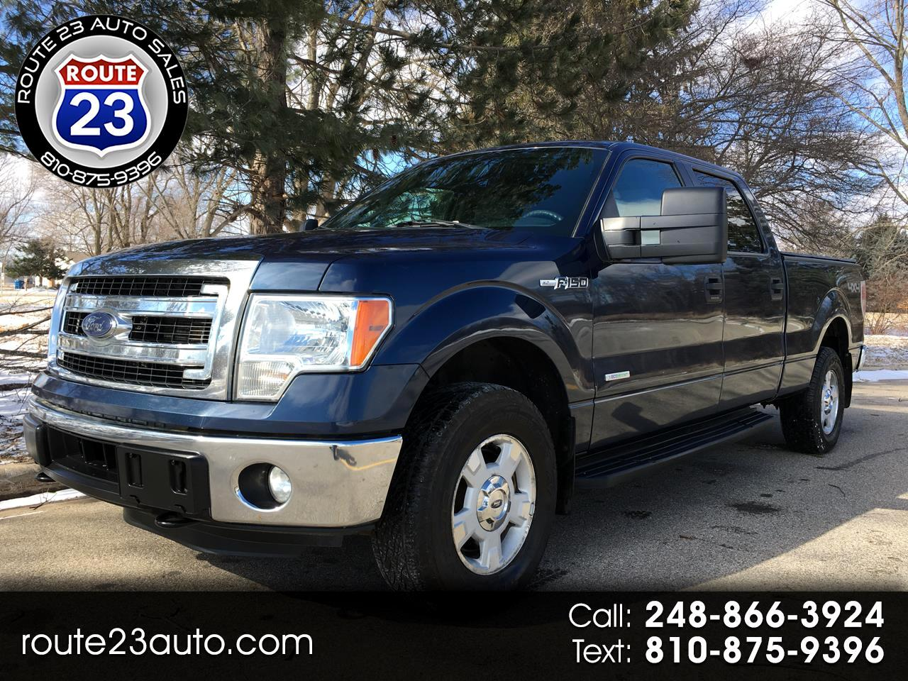 2014 Ford F-150 XLT 4WD SuperCrew 6.5' Box