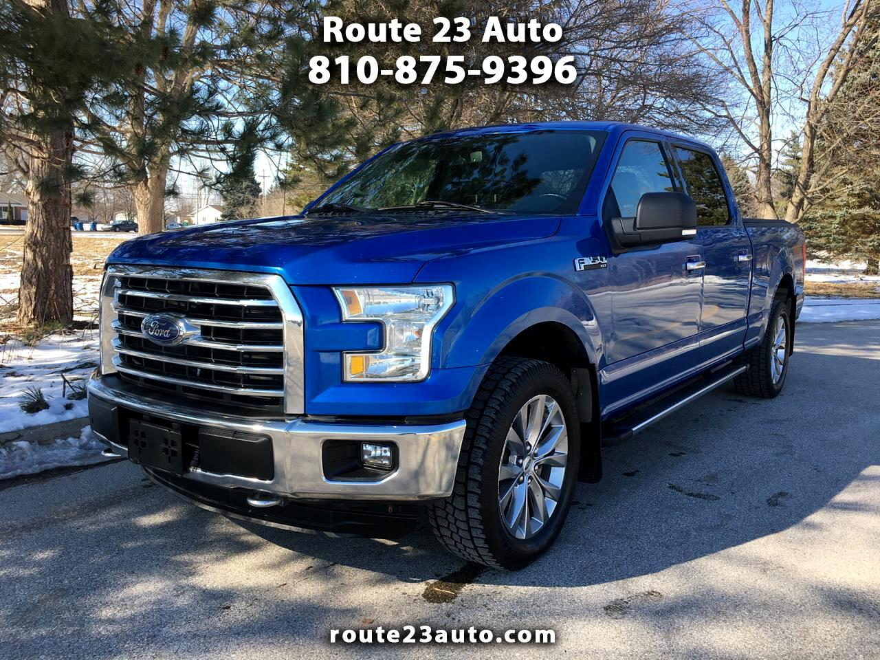2015 Ford F-150 XL 4WD SuperCrew 6.5' Box