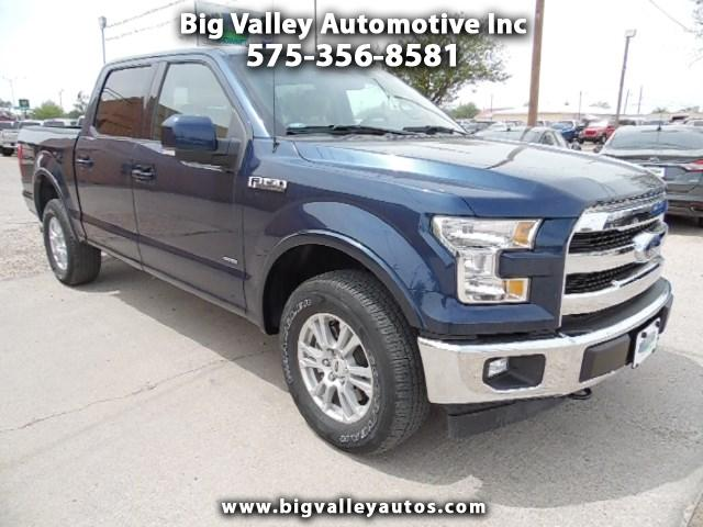 "2017 Ford F-150 4WD SuperCrew 145"" Lariat"