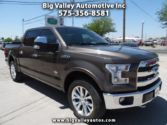 """2015 Ford F-150 SuperCrew Crew Cab 139"""" King Ranch 4WD"""