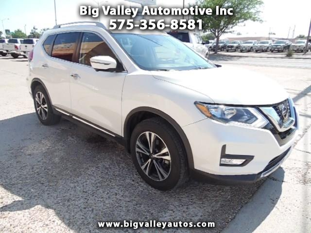2017 Nissan Rogue FWD 4dr SL