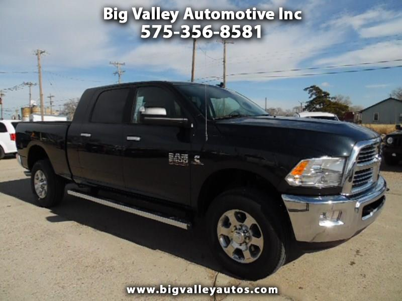 "2018 RAM 2500 Big Horn 4x4 Mega Cab 6'4"" Box"