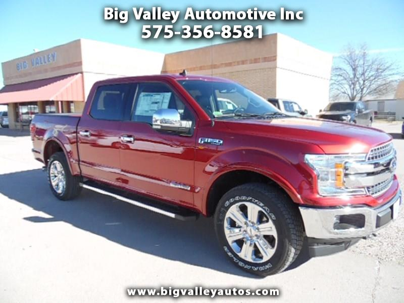 "2019 Ford F-150 4WD SuperCrew 145"" Lariat"