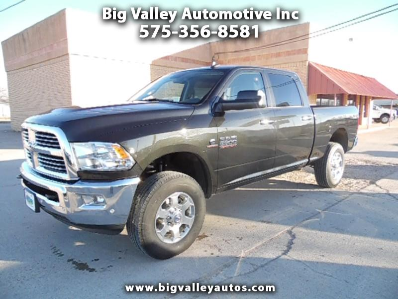"2018 RAM 2500 Big Horn 4x4 Crew Cab 6'4"" Box"