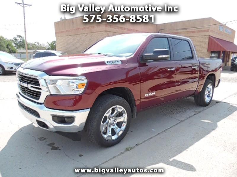 "RAM 1500 Big Horn 4x4 Crew Cab 5'7"" Box 2020"