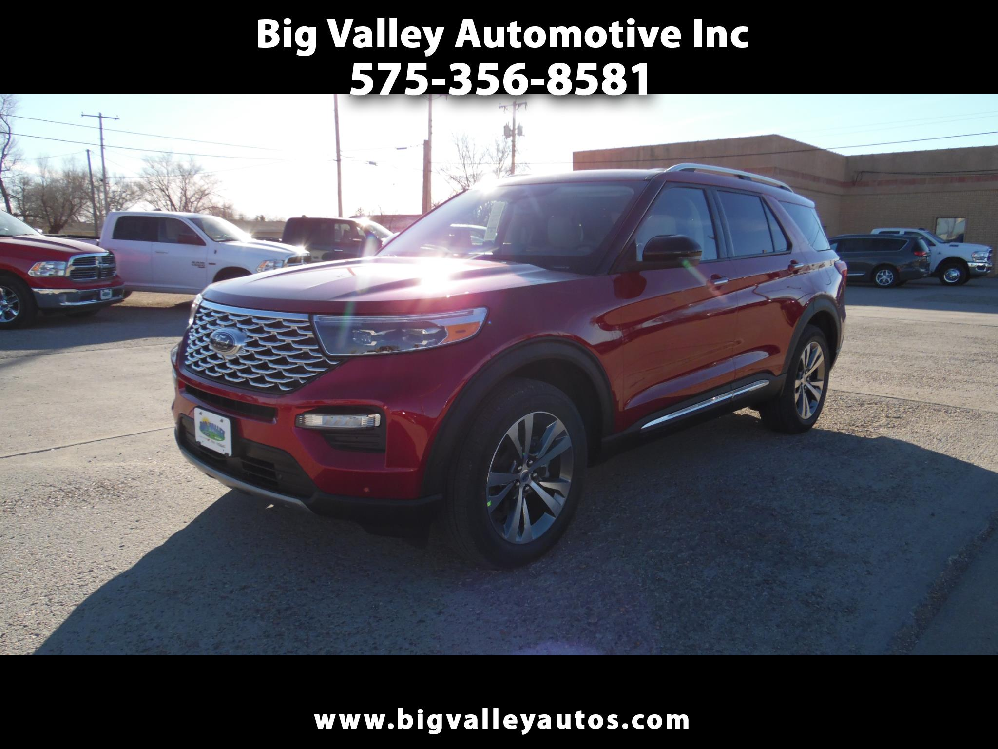 Ford Explorer Platinum 4WD 2020