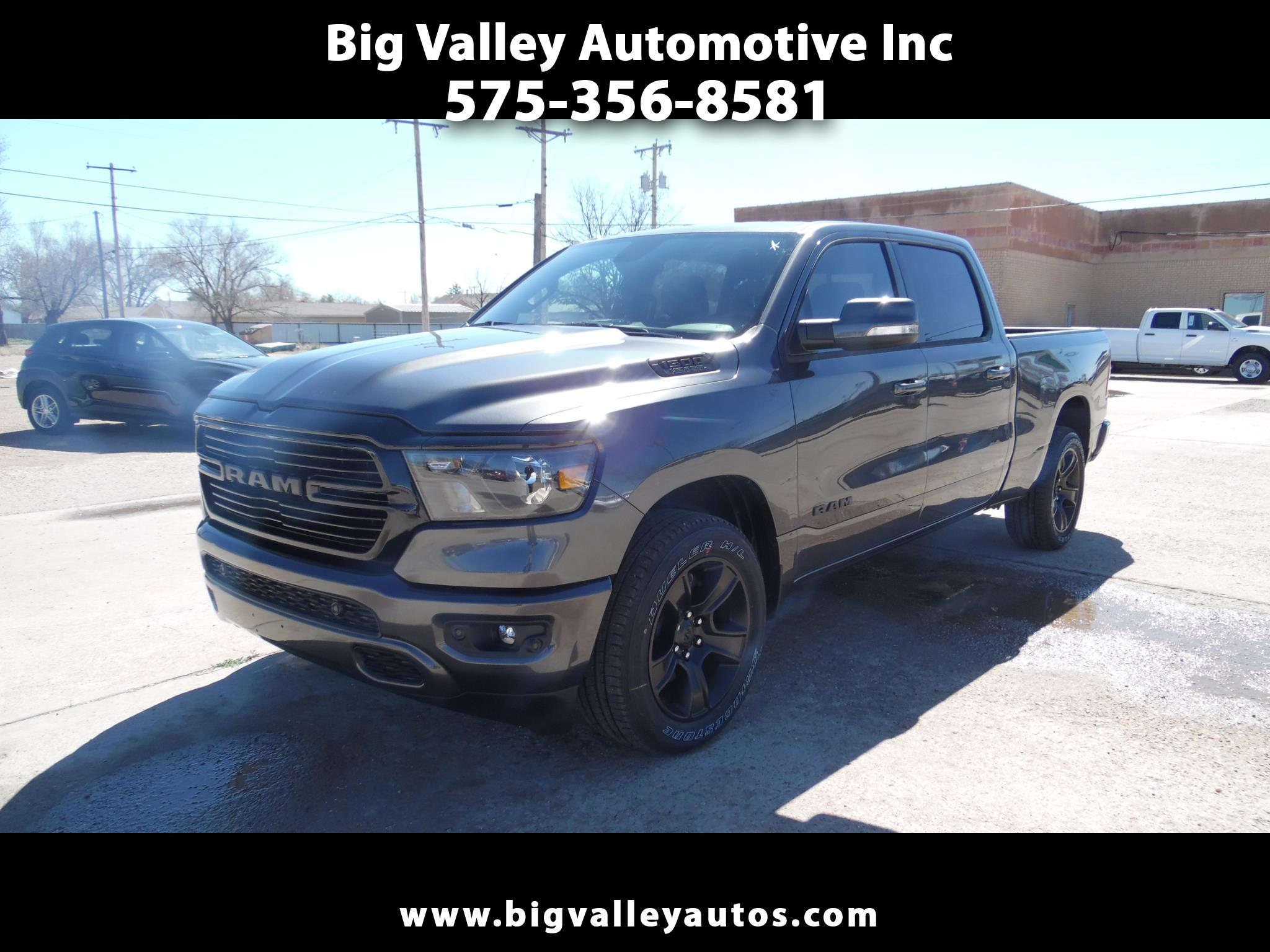"RAM 1500 Big Horn 4x2 Crew Cab 6'4"" Box 2020"