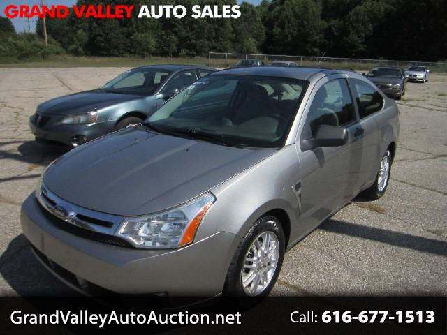 2008 Ford Focus 2dr Cpe SES