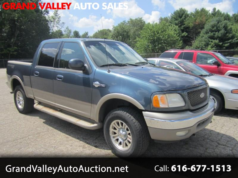 "2001 Ford F-150 SuperCrew Crew Cab 139"" King Ranch 4WD"